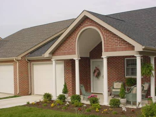 Rose Mary C. Brooks Place in Winchester, Kentucky offers seniors sixty-four independent living cottages.